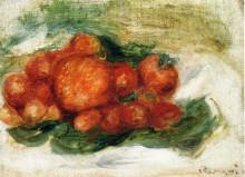 "Репродукция картины ""Still Life with Strawberries"" художника ""Ренуар Пьер Огюст"""
