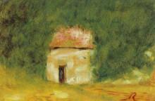 "Репродукция картины ""The Little House"" художника ""Ренуар Пьер Огюст"""