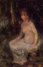 "Копия картины ""Nude Sitting in the Forest"" художника ""Ренуар Пьер Огюст"""