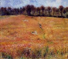 "Картина ""Path through the High Grass"" художника ""Ренуар Пьер Огюст"""