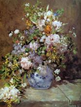 """Копия картины """"Spring Bouquet"""" художника """"Ренуар Пьер Огюст"""""""