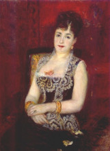 "Картина ""Portrait of the countess pourtales"" художника ""Ренуар Пьер Огюст"""