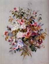 """Репродукция картины """"A Bouquet of Roses"""" художника """"Ренуар Пьер Огюст"""""""