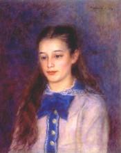 "Копия картины ""portrait of therese berard"" художника ""ренуар пьер огюст"""