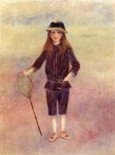 "Копия картины ""The Little Fishergirl"" художника ""Ренуар Пьер Огюст"""