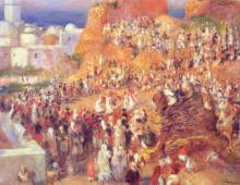 "Копия картины ""the mosque arab holiday (the casbah)"" художника ""ренуар пьер огюст"""