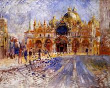 """Картина """"The Piazza San Marco"""" художника """"Ренуар Пьер Огюст"""""""