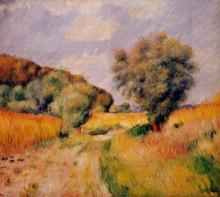 "Репродукция картины ""Fields of Wheat"" художника ""Ренуар Пьер Огюст"""