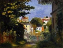 """Картина """"house and figure among the trees"""" художника """"ренуар пьер огюст"""""""