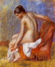 """Картина """"nude in an armchair"""" художника """"ренуар пьер огюст"""""""