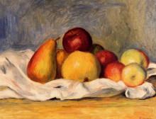 """Картина """"Pears and Apples"""" художника """"Ренуар Пьер Огюст"""""""