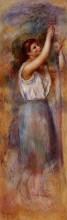 """Картина """"study of a woman"""" художника """"ренуар пьер огюст"""""""