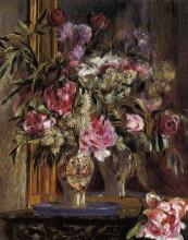 "Картина ""Vase of Flowers"" художника ""Ренуар Пьер Огюст"""