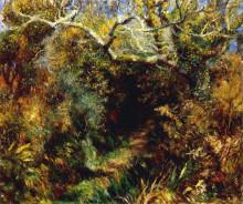 "Картина ""Mediterranean landscape"" художника ""Ренуар Пьер Огюст"""
