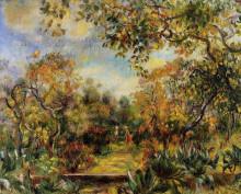 """Картина """"Beaulieu Landscape"""" художника """"Ренуар Пьер Огюст"""""""