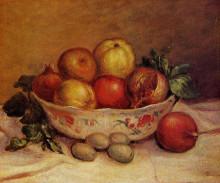 """Картина """"Still Life with Pomegranates"""" художника """"Ренуар Пьер Огюст"""""""