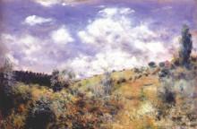 "Репродукция картины ""The Gust of Wind"" художника ""Ренуар Пьер Огюст"""