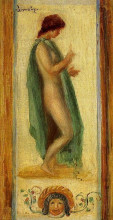 "Копия картины ""Study of a Woman, for Oedipus"" художника ""Ренуар Пьер Огюст"""