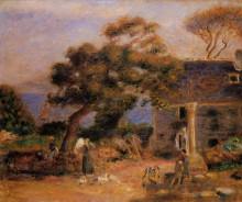 "Картина ""View of Treboul"" художника ""Ренуар Пьер Огюст"""
