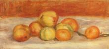 """Копия картины """"apples and manderines"""" художника """"ренуар пьер огюст"""""""