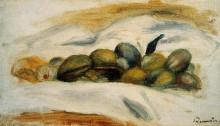 """Картина """"still life almonds and walnuts"""" художника """"ренуар пьер огюст"""""""