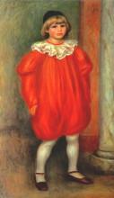 "Копия картины ""The Clown (Claude Ranoir in Clown Costume)"" художника ""Ренуар Пьер Огюст"""