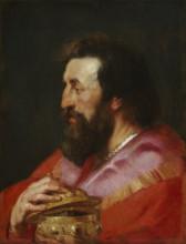"Картина ""Melchior, The Assyrian King"" художника ""Рубенс Питер Пауль"""