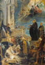 "Картина ""Miracle of St. Francis"" художника ""Рубенс Питер Пауль"""