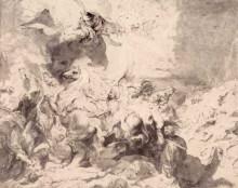 "Копия картины ""The Damage of Sennaherib"" художника ""Рубенс Питер Пауль"""