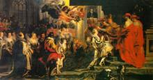 """Картина """"Coronation of Marie de Medici"""" художника """"Рубенс Питер Пауль"""""""
