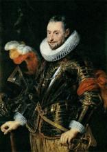 "Копия картины ""portrait of ambrogio spinola"" художника ""рубенс питер пауль"""