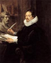 """Картина """"Portrait of Jan Gaspar Gevartius"""" художника """"Рубенс Питер Пауль"""""""