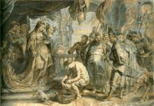 "Картина ""Queen Tomyris with the Head of Cyrus"" художника ""Рубенс Питер Пауль"""