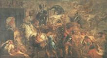 "Картина ""triumphal entry of henry iv into paris"" художника ""рубенс питер пауль"""