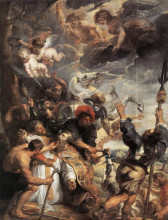 "Картина ""the martyrdom of st. livinus"" художника ""рубенс питер пауль"""