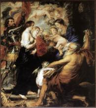 "Копия картины ""Our Lady with the Saints"" художника ""Рубенс Питер Пауль"""