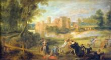 """Картина """"castle garden"""" художника """"рубенс питер пауль"""""""