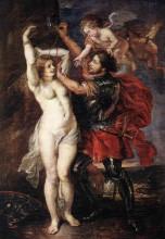 "Картина ""Perseus and Andromeda"" художника ""Рубенс Питер Пауль"""