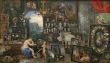 "Картина ""Sight - The Five Senses (series)"" художника ""Рубенс Питер Пауль"""