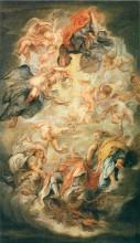 """Копия картины """"Apotheosis of King James I"""" художника """"Рубенс Питер Пауль"""""""