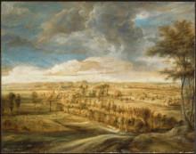"""Репродукция картины """"Landscape with an Avenue of Trees"""" художника """"Рубенс Питер Пауль"""""""