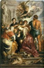 "Картина ""Martyrdom of St. Catherine"" художника ""Рубенс Питер Пауль"""