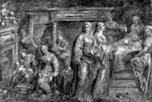 "Копия картины ""The Nativity of the Virgin Mary"" художника ""Рубенс Питер Пауль"""