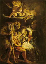 "Картина ""adoration of the shepherds"" художника ""рубенс питер пауль"""
