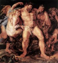 """Репродукция картины """"The Drunken Hercules"""" художника """"Рубенс Питер Пауль"""""""