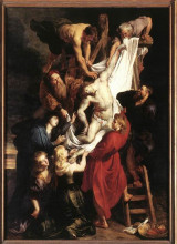 "Картина ""descent from the cross (centre panel)"" художника ""рубенс питер пауль"""