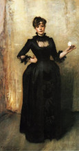 "Картина ""louise burckhardt (also known as lady with a rose)"" художника ""сарджент джон сингер"""