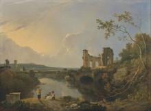 "Картина ""Italian Landscape (Morning)"" художника ""Уилсон Ричард"""