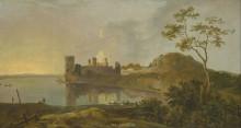 "Картина ""Summer Evening (Caernarvon Castle)"" художника ""Уилсон Ричард"""