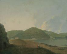 "Копия картины ""Lago d'Agnano with the Grotta del Cane"" художника ""Уилсон Ричард"""